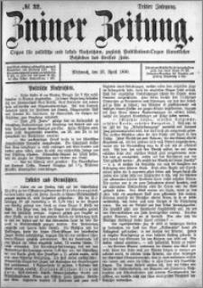 Zniner Zeitung 1890.04.23 R.3 nr 32