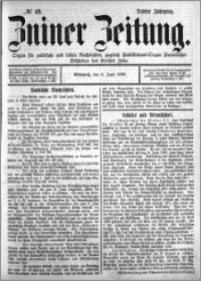 Zniner Zeitung 1890.06.04 R.3 nr 43