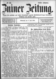 Zniner Zeitung 1890.07.09 R.3 nr 53
