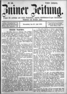Zniner Zeitung 1890.07.26 R.3 nr 58