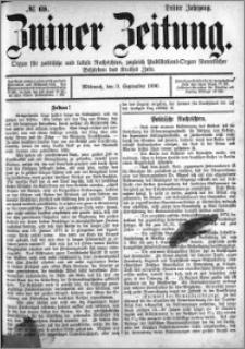 Zniner Zeitung 1890.09.03 R.3 nr 69