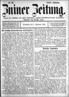 Zniner Zeitung 1890.09.06 R.3 nr 70