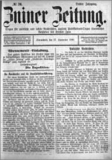 Zniner Zeitung 1890.09.27 R.3 nr 76