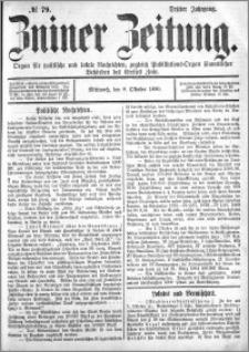 Zniner Zeitung 1890.10.08 R.3 nr 79