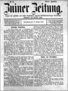 Zniner Zeitung 1891.01.10 R.4 nr 3
