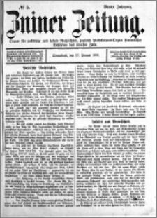 Zniner Zeitung 1891.01.17 R.4 nr 5