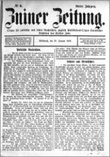 Zniner Zeitung 1891.01.21 R.4 nr 6