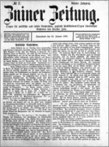 Zniner Zeitung 1891.01.24 R.4 nr 7
