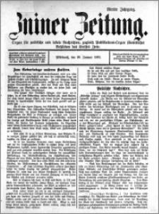 Zniner Zeitung 1891.01.28 R.4 nr 8