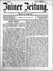 Zniner Zeitung 1891.01.31 R.4 nr 9