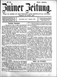Zniner Zeitung 1891.02.07 R.4 nr 11