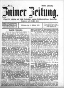 Zniner Zeitung 1891.02.11 R.4 nr 12