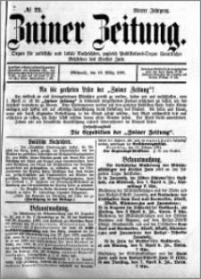 Zniner Zeitung 1891.03.18 R.4 nr 22