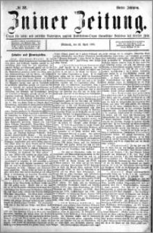 Zniner Zeitung 1891.04.22 R.4 nr 32