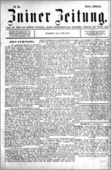 Zniner Zeitung 1891.05.02 R.4 nr 35