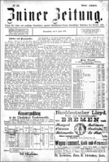 Zniner Zeitung 1891.06.06 R.4 nr 44