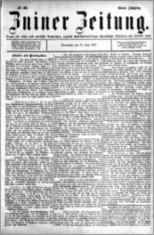 Zniner Zeitung 1891.06.13 R.4 nr 46
