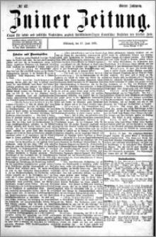 Zniner Zeitung 1891.06.17 R.4 nr 47