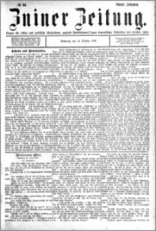 Zniner Zeitung 1891.10.14 R.4 nr 81