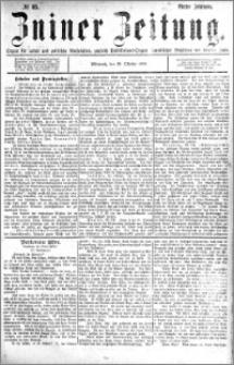 Zniner Zeitung 1891.10.28 R.4 nr 85