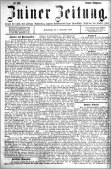 Zniner Zeitung 1891.11.07 R.4 nr 88