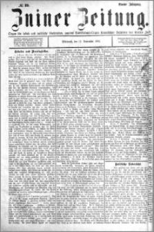 Zniner Zeitung 1891.11.11 R.4 nr 89