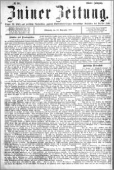 Zniner Zeitung 1891.11.18 R.4 nr 91