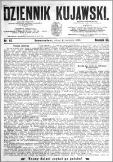 Dziennik Kujawski 1895.04.13 R.3 nr 85