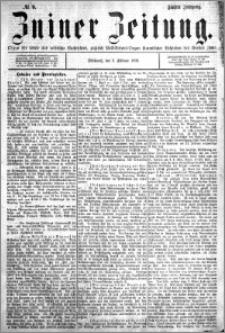 Zniner Zeitung 1892.02.03 R.5 nr 9