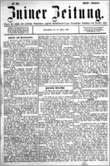 Zniner Zeitung 1892.03.19 R.5 nr 22