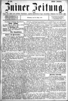 Zniner Zeitung 1892.03.23 R.5 nr 23