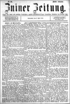 Zniner Zeitung 1892.04.02 R.5 nr 26