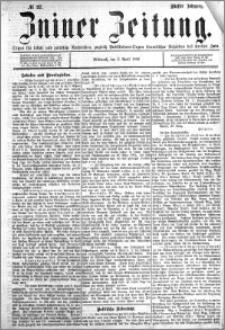 Zniner Zeitung 1892.04.06 R.5 nr 27