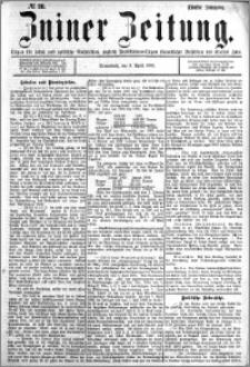 Zniner Zeitung 1892.04.09 R.5 nr 28