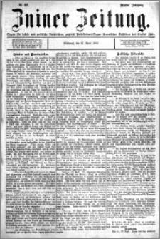 Zniner Zeitung 1892.04.27 R.5 nr 32
