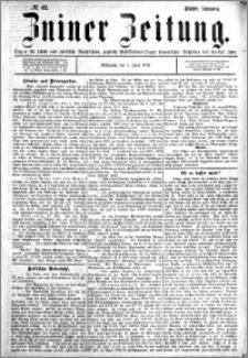 Zniner Zeitung 1892.06.01 R.5 nr 42