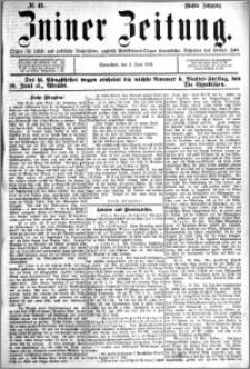 Zniner Zeitung 1892.06.04 R.5 nr 43