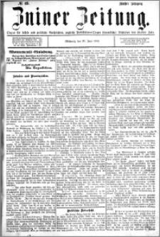 Zniner Zeitung 1892.06.29 R.5 nr 49
