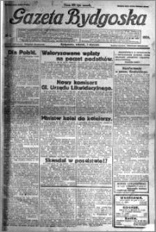 Gazeta Bydgoska 1924.01.01 R.3 nr 1