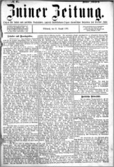 Zniner Zeitung 1892.08.31 R.5 nr 67