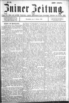 Zniner Zeitung 1892.10.01 R.5 nr 76