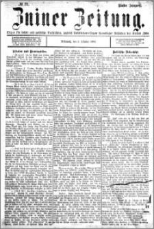 Zniner Zeitung 1892.10.05 R.5 nr 77