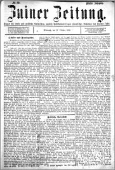 Zniner Zeitung 1892.10.12 R.5 nr 79