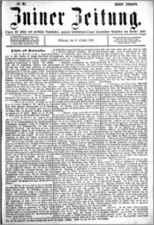 Zniner Zeitung 1892.10.19 R.5 nr 81