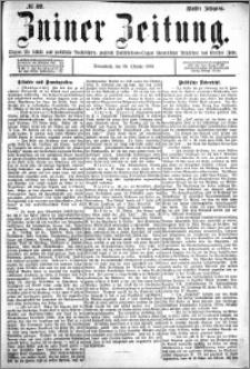 Zniner Zeitung 1892.10.22 R.5 nr 82