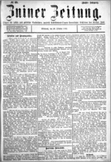 Zniner Zeitung 1892.10.26 R.5 nr 83