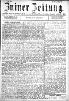 Zniner Zeitung 1892.10.29 R.5 nr 84