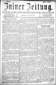 Zniner Zeitung 1892.11.02 R.5 nr 85