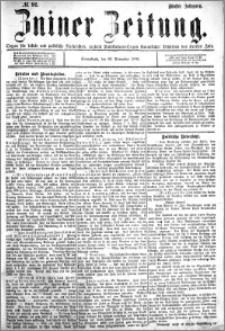 Zniner Zeitung 1892.11.26 R.5 nr 92