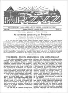 Krzyż 1930, R. 2, nr 39